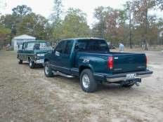 My Texas Pickup Trucks (2 of them)