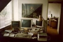 My Alpmann & Schmidt Office - note the Acoustic Coupler (!)