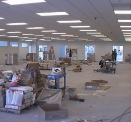 Data Center Floor Construction