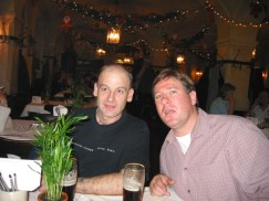 with Matt at the Hofbräuhaus Munich