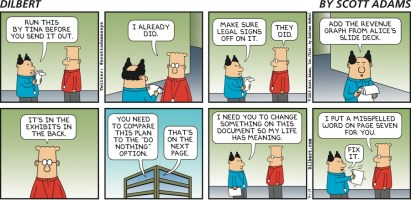 Dilbert: The Dire Life of Middle Managers
