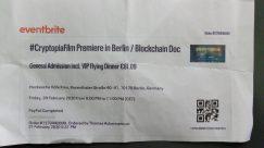 Cryptopia Movie - Berlin Opening Night Community Support