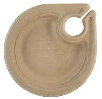 """7"""" Wheatstraw Party Plates - With Wine Glass Holder (PL-SC ..."""