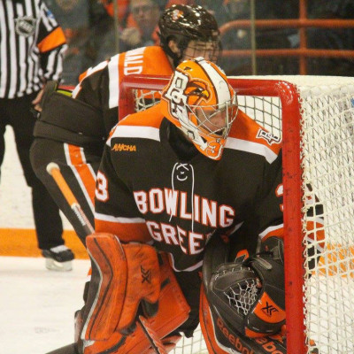 Nell has been targeted by many NHL teams this season. Photo copyright Jessi Renner/BGSUHockey.com