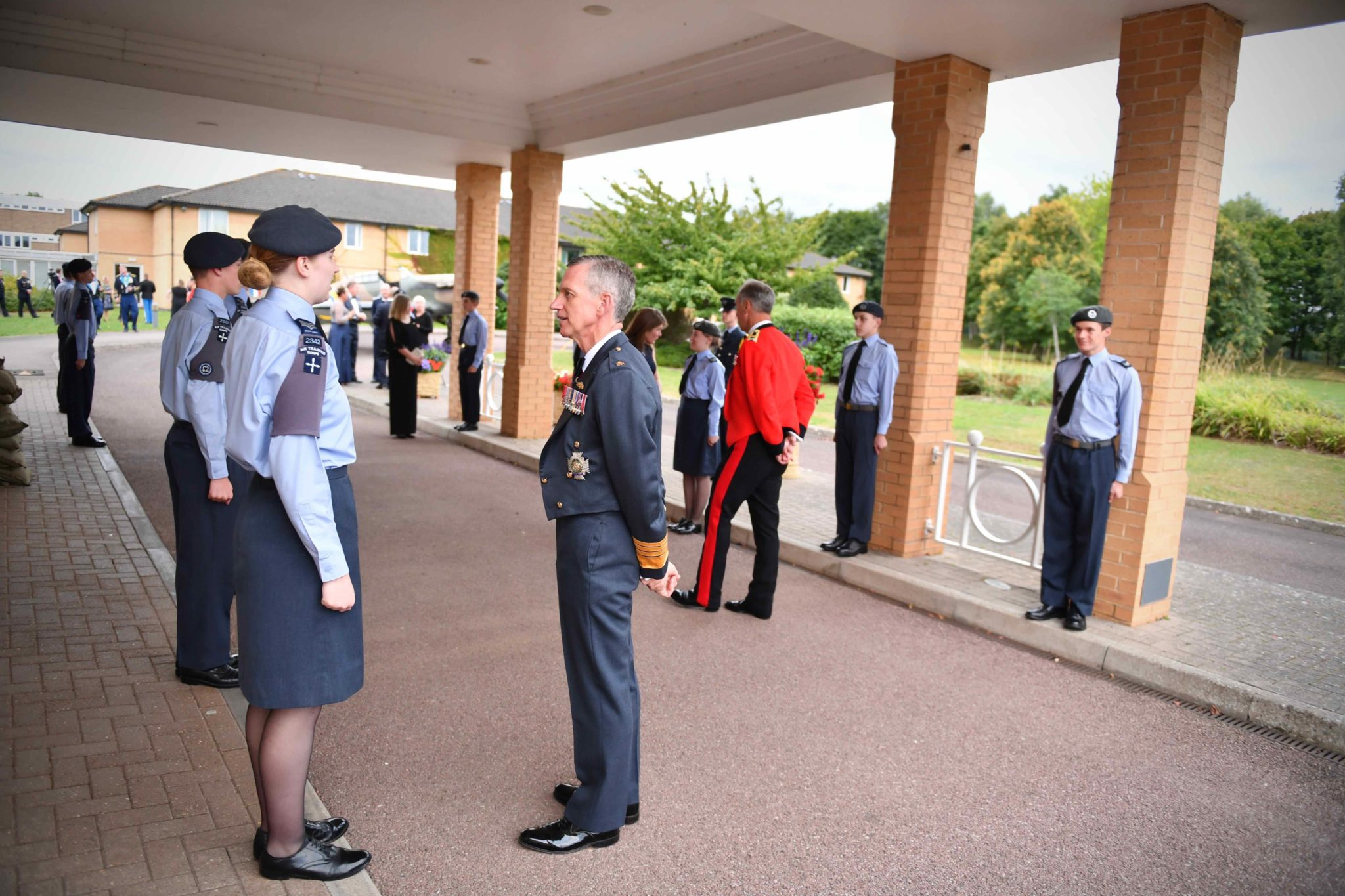 Innsworth Guard of Honour for VIP