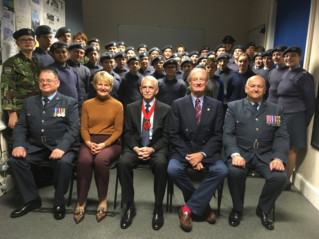 2328 (Bishop's Cleeve) Squadron celebrates its Diamond Anniversary by winning prestigious awards