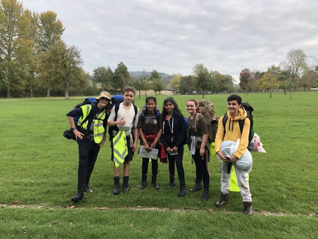 Successful Wing Bronze Duke of Edinburgh's Award Expedition Weekend