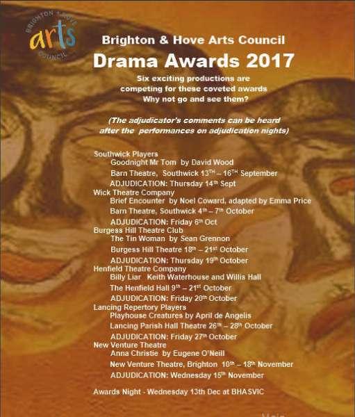BHAC Drama Awards 2017
