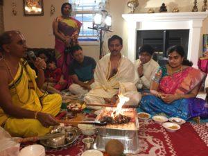 NOV-8th Full day Seva-Rama Raksha Homam