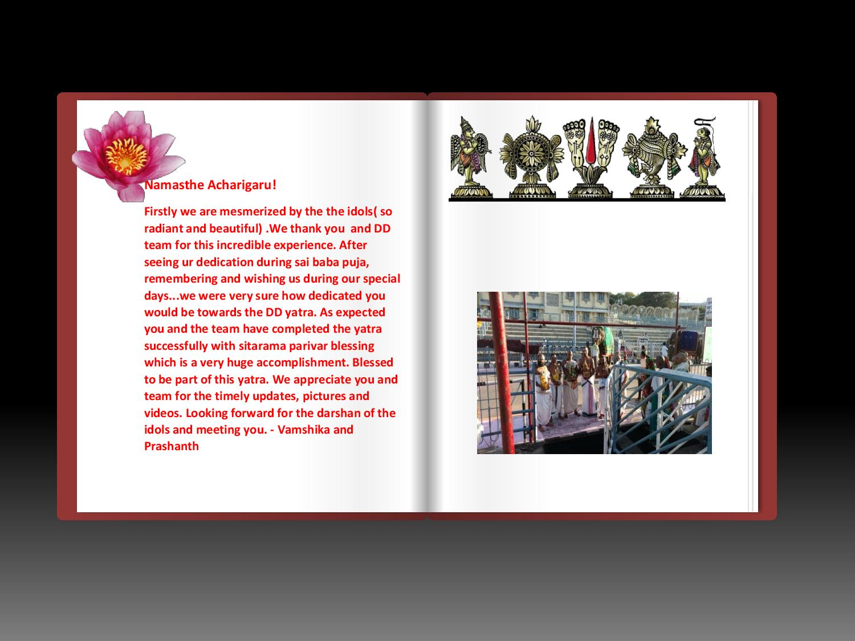 Divine Experiences | Bhadradri Sri Rama Temple of USA