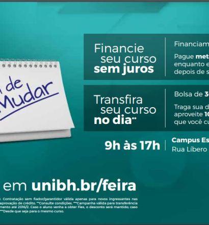 Feira oferece condições especiais de financiamento para cursos de graduação no UniBH