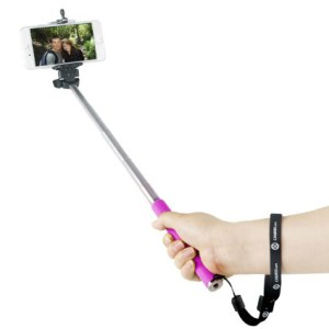 Rechargeable selfie stick1