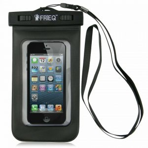 Touchable waterproof moble case