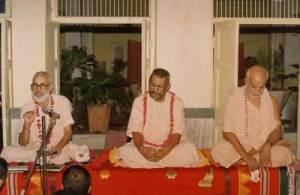 Os três  pilares da Gaudiya Vedanta Samiti