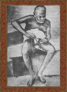Após cantar quase toda a noite, na manhã seguinte, ele oferecia 1.108 dandavats pranamas às deidades