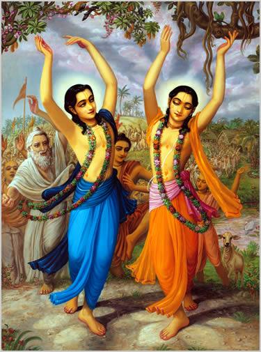 01grande. Sri Caitanya Mahaprabhu e Nityananda Prabhu