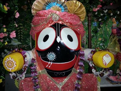 Deidade do Senhor Jagannatha