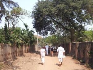 Ruas de jagannatha Puri