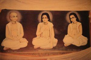 Srila Narottama Dasa, Srivasa Acarya, e Syamananda Prabhu