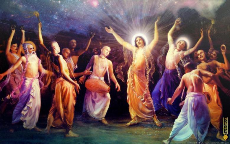 Navadvipa-dhama não é diferente de Vrndavana, e é mais elevada porque é a madhurya-dhama. É a morada transcendental dos dulcíssimos passatempos humanos do Senhor. Aqui não há qualquer aisvarya (humor de opulência, respeito). Mahaprabhu é simplesmente o querido menininho de Saci Mata, sua mãe.