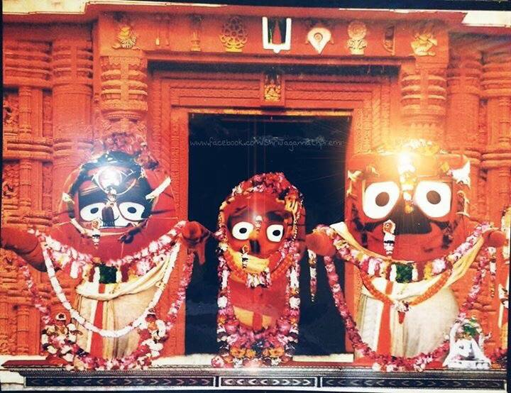 Jagannatha, Baladeva e Subhadra no Ratha Yatra 2016