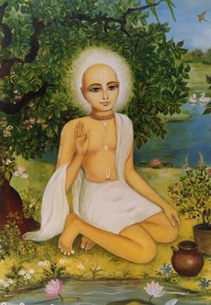 Jiva tinha uma natureza extremamente suave, e conforme ele crescia, gradualmente começou a adorar as deidades de Sri Sri Radha Krisna.