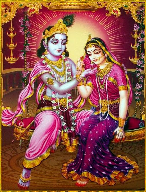 """Bhisma Pitamaha então respondeu a Draupadi: """"Naquela época, eu costumava ingerir suas refeições, água, suco, e tudo mais. Eu era dependente deles, e, portanto, fazia de tudo para agradá-los. Minha inteligência naquela época estava encoberta."""""""