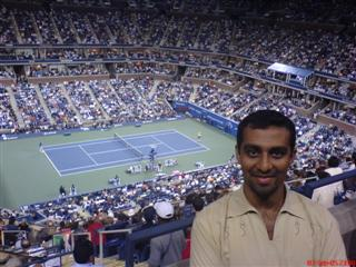 Vinit at US Open