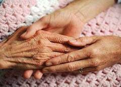 Treatment of elderly people at our homes