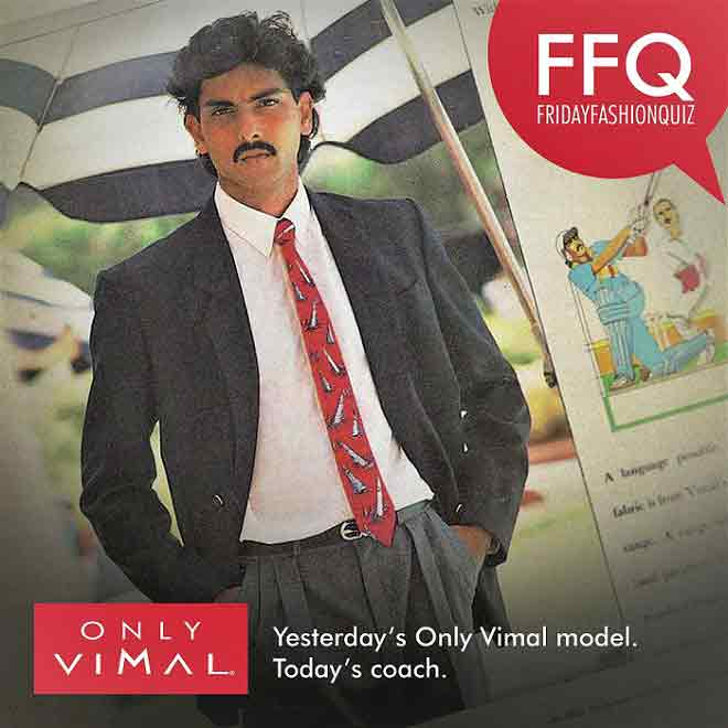 Only Vimal ads featuring cricketers