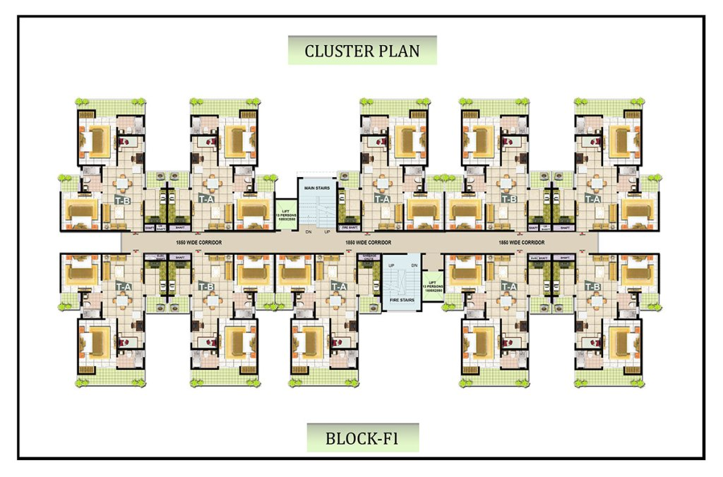 bharatcity Cluster-PLAN-F-1