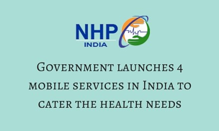 Launch of 4 Mobile Services for Public Health In India
