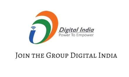 Unveiling of the logo of #DigitalIndia launched by PM Shri Narendra Modi