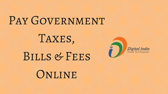 Pay Government Taxes, Bills & Fees Online