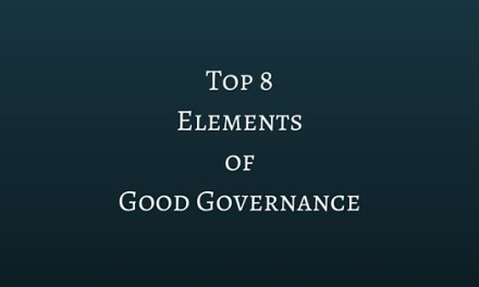 Top 8 Elements of Good Governance