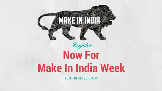 Register Now for Make in India Week