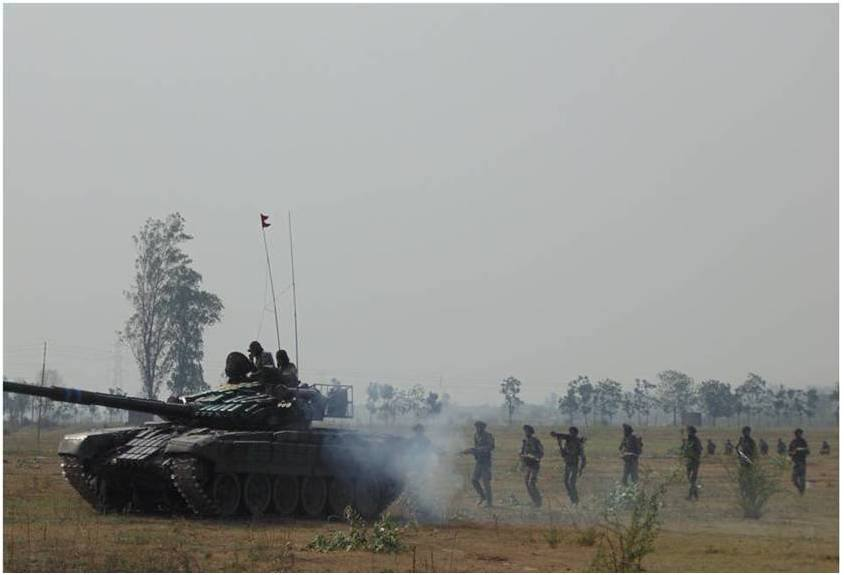 Panther Division Conducts Military Training3