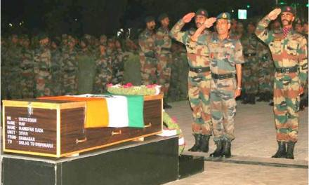 Commendable Gallantry By Havildar Hangpang Dada Before Attaining Martyrdom