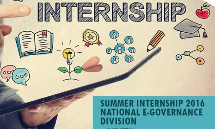 Summer Internship with National eGovernance Division