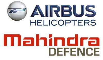 Airbus Helicopters & Mahindra signs Contract Make Parts of Panther Helicopters