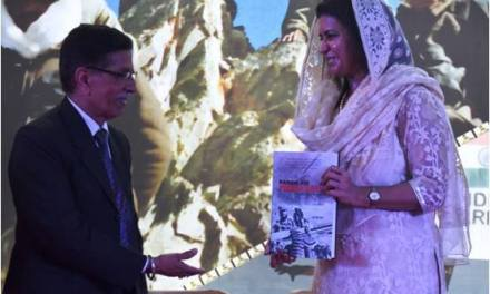 MRS NAMITA SUHAG RELEASED BIOGRAPHY ON KARGIL WAR HERO CAPT VIKRAM BATRA, PVC (P)