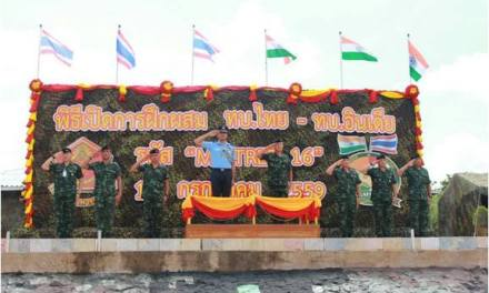 EXERCISE MAITREE Between ‪#‎IndianArmy‬ and Royal Thailand Army