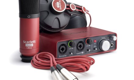Focusrite Scarlett Studio USB Audio Interface Recording Package #Review #HomeStudio