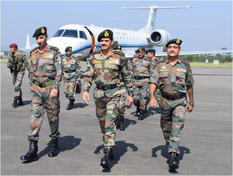 Gen Dalbir Singh #COAS visited LC formations and units in North and South Kashmir today.