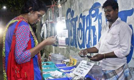 Digital transition are being embraced by Small-time street vendor in Chennai