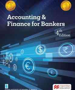 Macmillian's Accounting and Finance for Bankers by IIBF - 4th Edition 2021