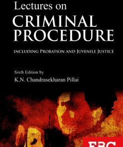 EBC's R.V. Kelkar Lectures on Criminal Procedure by Dr. K.N. Chandrasekharan Pillai - 6th Edition 2017, Reprinted 2021