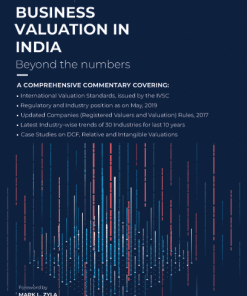 Wolters Kluwer Business Valuation in India By Corporate Professionals 2nd Edition July 2019