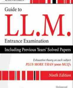 Universal's Guide to LLM Entrance Examination by Gaurav Mehta - 9th Edition 2021