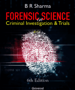 Lexis Nexis's Forensic Science in Criminal Investigation and Trials by B R Sharma 6th Edition 2020